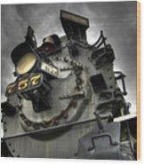 Engine 757 Wood Print