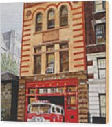 Engine Company 47 Wood Print