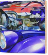Engine Compartment 11 Wood Print