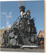Engine Number 473 Wood Print