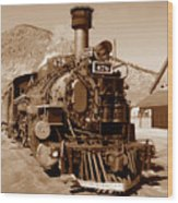 Engine Number 478 Wood Print