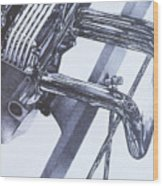 Engine2 Wood Print