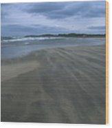 England, Lindisfarne Storm Approaching Wood Print