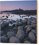 England, Northumberland, Embleton Bay. Wood Print
