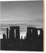 England: Stonehenge Wood Print