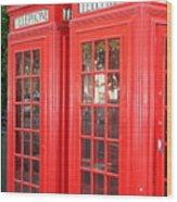 England's Calling Wood Print