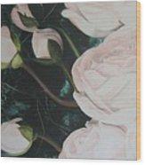 Englische Rosen Wood Print