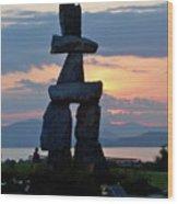 English Bay Vancouver Wood Print