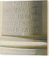 Engraved Wood Print