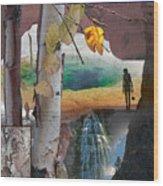 Enjoy Nature Wood Print