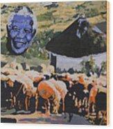 Enkosi Kakhulu Hamba Kahle Tat' Umadiba Wood Print