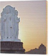 Enlightened Buddha  Wood Print