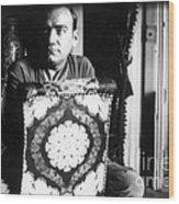 Enrico Caruso, Last Known Photo, 1921 Wood Print