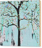 Enroute Wood Print