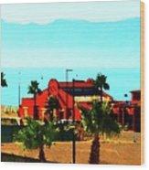Ensenada, Baja, Mexico Wood Print