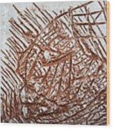 Enter - Tile Wood Print
