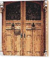 Enter Monaco Wood Print