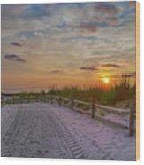 Enter Paradise- Avalon New Jersey Wood Print