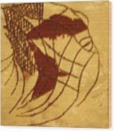 Enters - Tile Wood Print