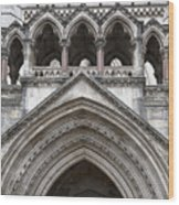 Entrance Arches Wood Print