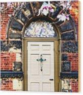 Entrance Wood Print
