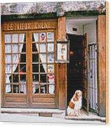 Entrance Paris France Wood Print
