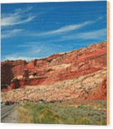 Entrance To Arches National Park Wood Print
