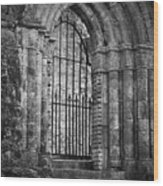 Entrance To Cong Abbey Cong Ireland Wood Print