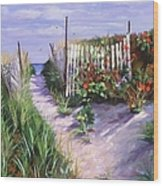 Entrance To Nantasket Wood Print