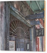 Entrance To Preservation Hall, New Orleans Wood Print