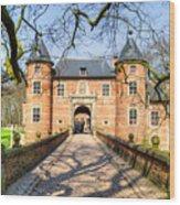 Entrance To The Castle, Belgium Wood Print