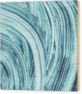 Entranced 1- Abstract Art By Linda Woods Wood Print