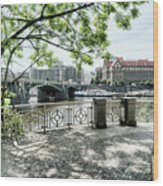 Entry To Prague Wood Print