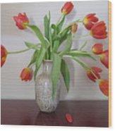 Entryway Bouquet Wood Print