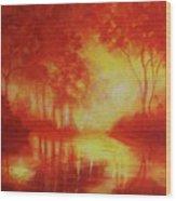 Envisioning Illumination Wood Print