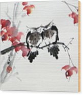 Envoy Of Fall Wood Print
