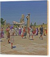Ephesis Period Performers Wood Print