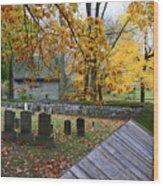 Ephrata Cloister Cemetery Wood Print