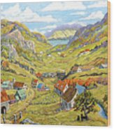 Epic Charlevoix Created By Richard Pranke Wood Print