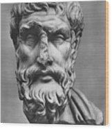 Epicurus (342?-270 B.c.) Wood Print