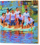 Epiphany Boys Wood Print