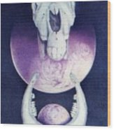 Epona Goddess Of Fertility Wood Print