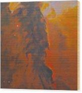 Epsilon Eridani A Stellar Spire In Eagle Nebula Wood Print by Jim Ellis