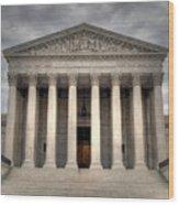 Equal Justice Wood Print