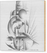 Equilibre Wood Print