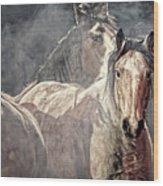 Equine Appearance Wood Print