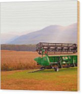 Equipment For Agriculture 2 Wood Print