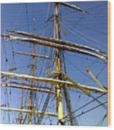 Era Of Sail Wood Print
