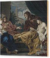 Erasistratus, Ancient Greek Physician Wood Print