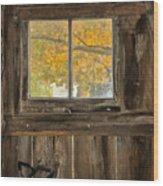 Eric's Barn Wood Print